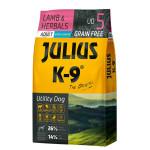 Julius K-9 GF Utility Dog Hypoallergen Adult Lamb Herbals 10kg