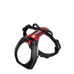 Julius K-9 HDR Hard Dog Race kutyahám Fekete-Piros 7-14kg S
