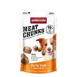 Animonda Meat Chunks Pute Pur pulykaszínhús jutalomfalat 60g