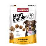 Animonda Meat Chunks Huhn Pur csirkeszínhús jutalomfalat 80g