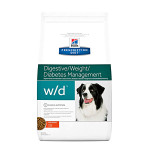 Hills PD Canine w/d Digestive Weight Diabetes Management 12kg