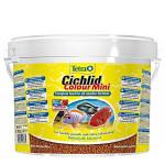 Tetra Cichlid Colour Mini színező díszhaltáp 10l