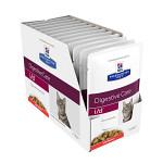 Hills PD Feline i/d Digestive Care Salmon 12x85g