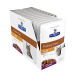 Hills PD Feline k/d Kidney Care Beef 12x85g