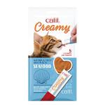 Hagen Catit Creamy Snack Tenger gyümölcseivel 5x15g