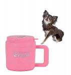 Paw Plunger Small Mancstisztító kistestű kutyáknak pink