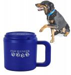 Paw Plunger Medium Mancstisztító közepestestű kutyáknak kék