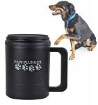 Paw Plunger Large Mancstisztító nagytestű kutyáknak fekete