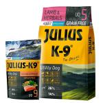 Julius K-9 GF Utility Dog Hypoallergen Bárány 3kg +Ajándék Lazac 340g