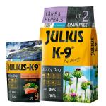 Julius K-9 GF Utility Dog Hypoallergen Puppy Bárány 3kg +Ajándék Lazac 340g