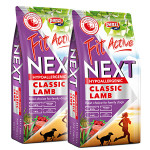 FitActive NEXT Hypoallergenic Adult Lamb Fish Cranberries 2x15kg