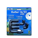 JBL OutSet Wide nyomó oldali befolyócső 22/16mm