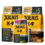 Julius K-9 GF City Dog Adult Kacsa körtével 2x10kg +Ajándék 3kg