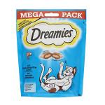 Dreamies Mega Pack Töltött falatkák lazacos 180g