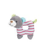 Trixie Junior Bear textilrágókával és síppal 16cm