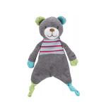 Trixie Junior Bear csörgős testtetl és síppal 28cm