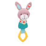 Trixie Junior Bunny rágókával és síppal 23cm