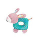 Trixie Junior Bunny textilrágókával és síppal 16cm