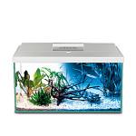 AquaEl Leddy 60 Day & Night szögletes akváriumkészlet Fehér 54L