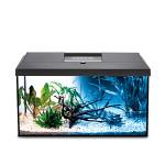 AquaEl Leddy 60 Day & Night szögletes akváriumkészlet Fekete 54L