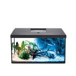 AquaEl Leddy 40 Day & Night szögletes akváriumkészlet Fekete 25L