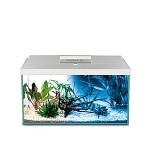 AquaEl Leddy 40 Day & Night szögletes akváriumkészlet Fehér 25L