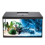 AquaEl Leddy 75 Day & Night szögletes akváriumkészlet Fekete 105L