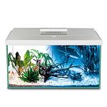AquaEl Leddy 75 Day & Night szögletes akváriumkészlet Fehér 105L