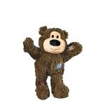 KONG Wild Knots Bears Plüss Mackó Sötétbarna XS
