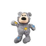 KONG Wild Knots Bears Plüss Mackó Szürke XS
