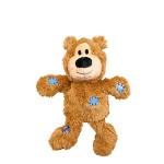 KONG Wild Knots Bears Plüss Mackó Világosbarna XS