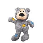 KONG Wild Knots Bears Plüss Mackó Szürke M-L