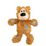 KONG Wild Knots Bears Plüss Mackó Világosbarna M-L