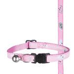 Trixie Mimi cicamintás macskanyakörv Pink