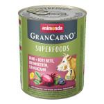 Animonda GranCarno Superfoods Marha Cékla 800g