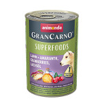 Animonda GranCarno Superfoods Bárány Áfonya 400g