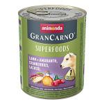 Animonda GranCarno Superfoods Bárány Áfonya 800g