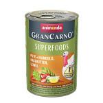Animonda GranCarno Superfoods Pulyka Csipkebogyó 400g