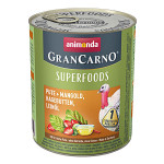 Animonda GranCarno Superfoods Pulyka Csipkebogyó 800g