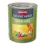 Animonda GranCarno Superfoods Csirke Málna 800g