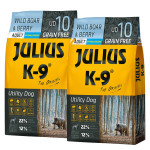 Julius K-9 GF Utility Dog Hypoallergen Adult Vaddisznó áfonya 2x3kg
