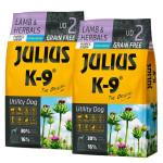 Julius K9 GF Utility Dog Hypoallergen Puppy Junior Bárány gyógynövény 2x3kg
