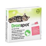 DronSpot Féreghajtó Spot-On közepestestű macskáknak 2,5kg-5kg  2x0,7ml