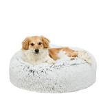 Trixie Harvey UP extrapuha magasított szőrös kutyafekhely Szürke 80cm