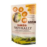 IAMS Naturally Cat Új-Zélandi Bárány csirkével Szószban 85g
