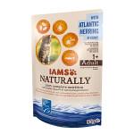 IAMS Naturally Cat Észak-Atlanti Hering Szószban 85g