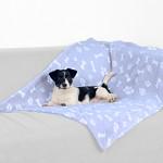 Trixie Kenny pléd kutyáknak pasztelkék 100x75cm