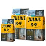 Julius K9 GF Utility Dog Hypoallergen Adult Vaddisznó áfonya 2x10kg +Ajándék 3kg