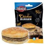 Trixie Chicken Burger csirkés hamburger jutalomfalat 140g