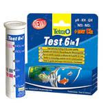 Tetra Test 6in1 akváriumi vízteszt készlet 25db